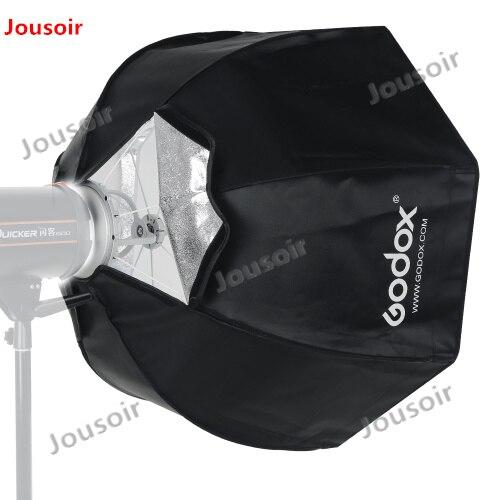 Godox SB-UE 120cm 47in Portable Octagonal Umbrella Softbox with Honeycomb Grid for Bowens Mount Studio Flash Softbox CD50