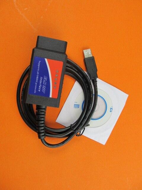 Elm 327 Usb v1.5  High Quality Obd2 Obd Ii Diagnostic Tool Elm327 Hot in Russian
