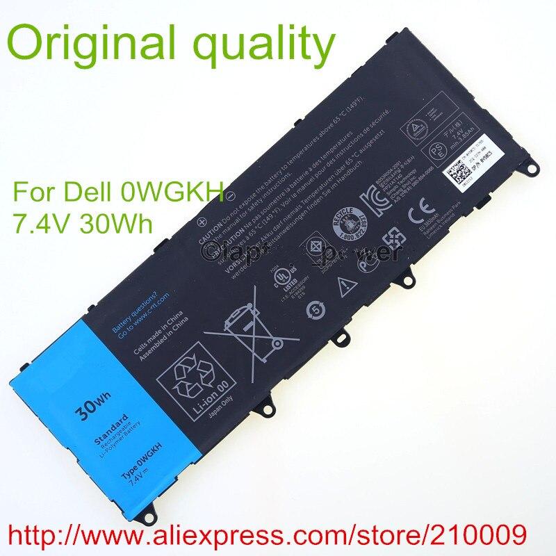 7.4V 30WH Original New Laptop Battery for 10e Tablet OWGKH 0WGKH bateria Free shipping