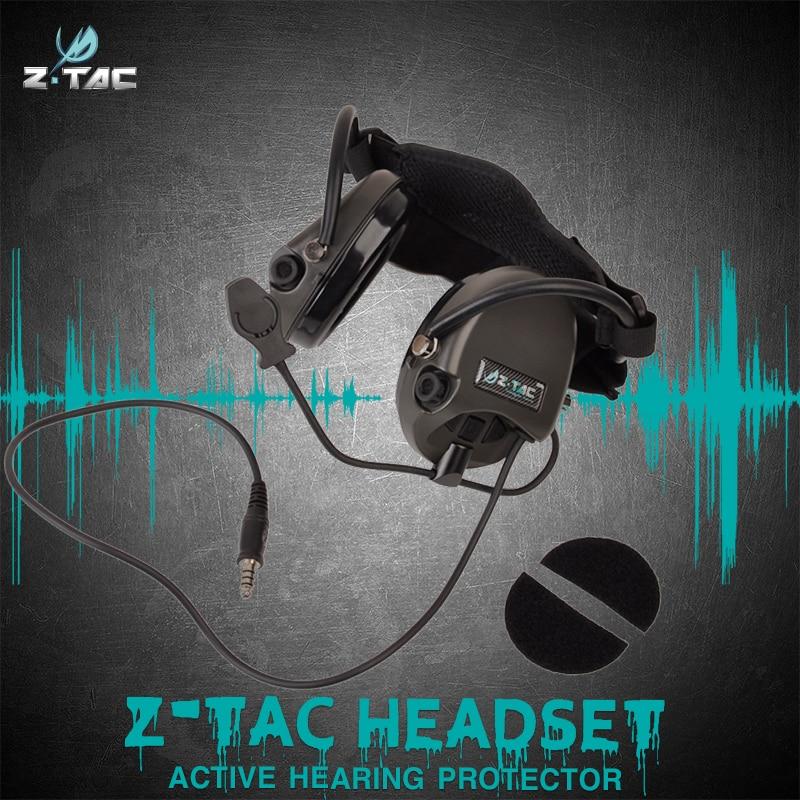 Z-Tactical tactical military headset ZTCI Liberator II Neckband communications Z039
