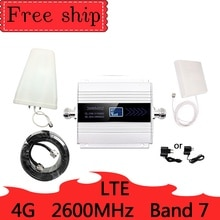 4G LTE 2600mhz Band 7 cellular signal booster 4G 2600mhz mobile netzwerk booster Daten Cellular Telefon repeater Verstärker