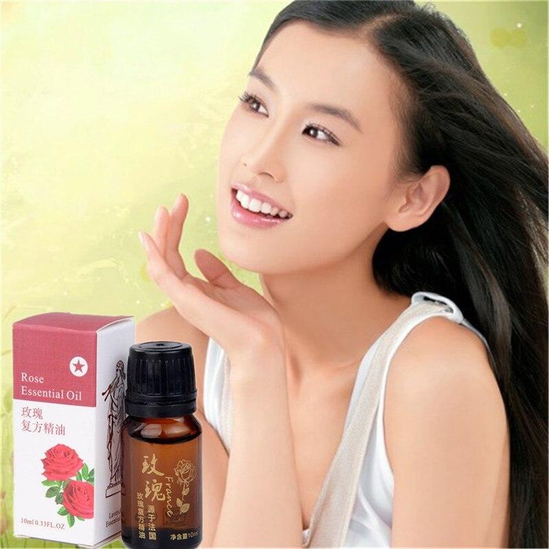 Óleo essencial de rosa búlgaro unilateral natural 10ml para cuidados faciais da beleza