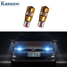 2x Canbus T10 194 168 W5W Voiture AMPOULE LED Lampe Intérieure Pour VW Polo Golf 4 5 6 7 GTI Passat B5 B6 B7 Jetta MK5 MK6 Bora CC