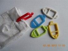20 pièces/lot Clips de chaussette coloré organisateurs de chaussettes trieurs supports