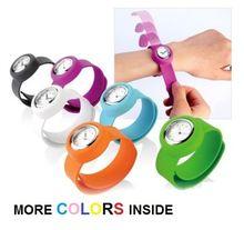 Silicone gifle sur montre garçons Sport enfants montre-bracelet filles petit Silicone mode femme enfants cadeau