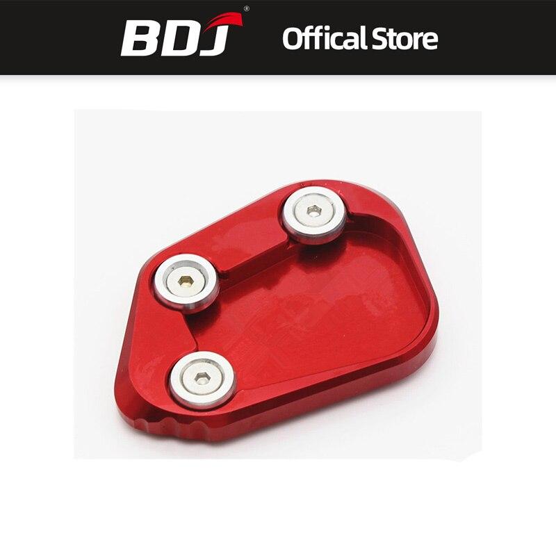 BDJ para Honda cbr250rrr CBR 250rrr 2017-2018 modificado lado de la motocicleta soporte de la placa Kickstand Enlarger extensión de soporte