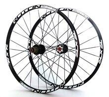 "carbon 26'' 29"" 27.5"" 24Holes Disc Brake Mountain Bike Wheels QR carbon hubs MTB Bicycle Wheels front 2 rear 5 sealed bearings"