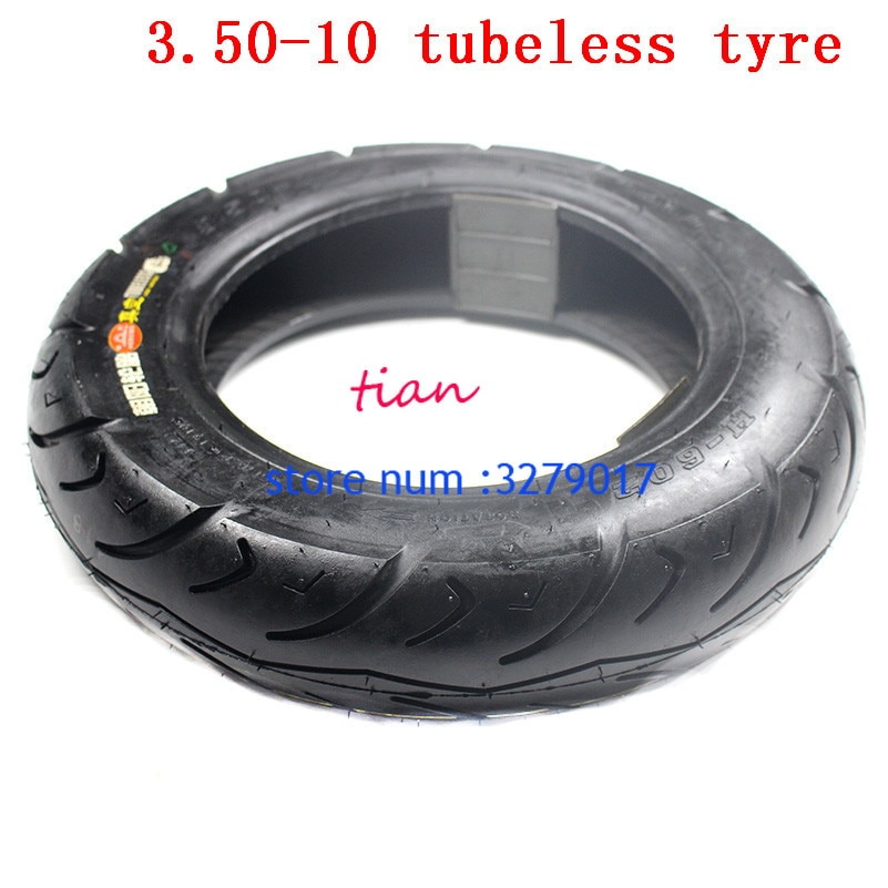3.50-10 motocicleta ciclomotor é um novo pneu é um novo pneu Da Motocicleta vácuo pneu 350-10 Elétrica