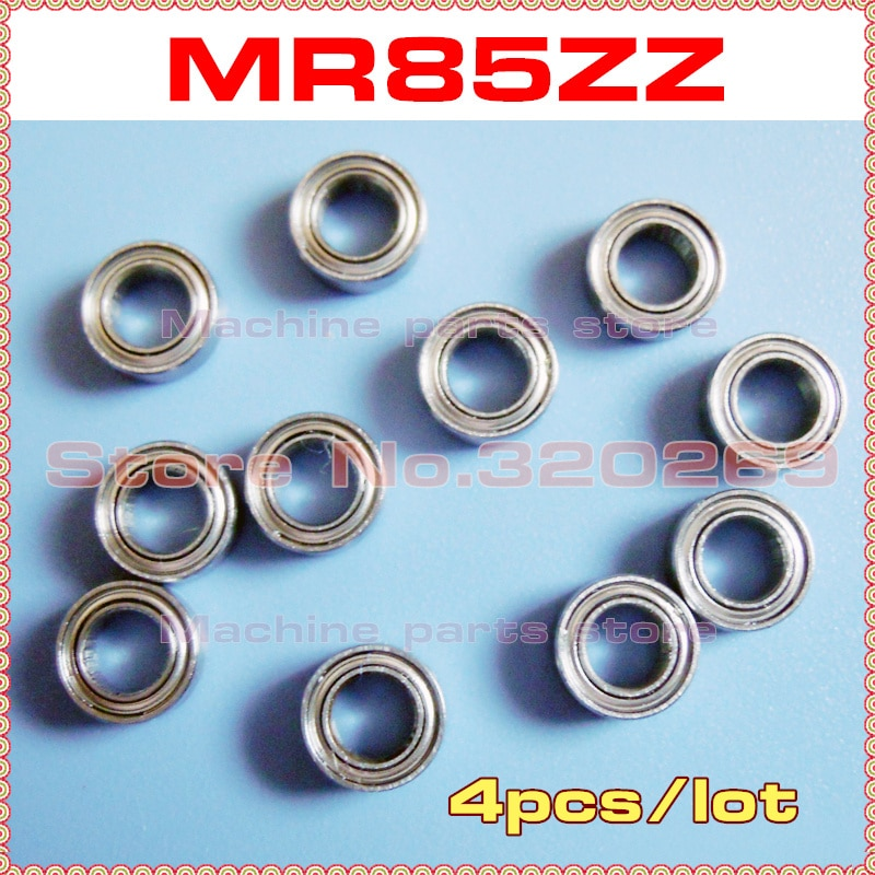 4 шт. радиальный шарикоподшипник вала 675ZZ MR85ZZ 5*8*2,5 5x8x2,5 мм металлический экран MR85Z шарикоподшипники