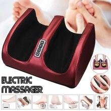 Nouveau masseur de pieds électrique 6-en-1 mollet jambe Air Compression Machine de Massage soins des pieds Machine de chauffage thérapie EU/US/UK Plug