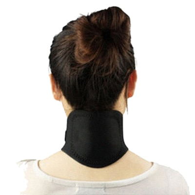 Neck Protection Massager Magnetic Therapy Neck Spontaneous Heating Headache Belt Body Massager Brace
