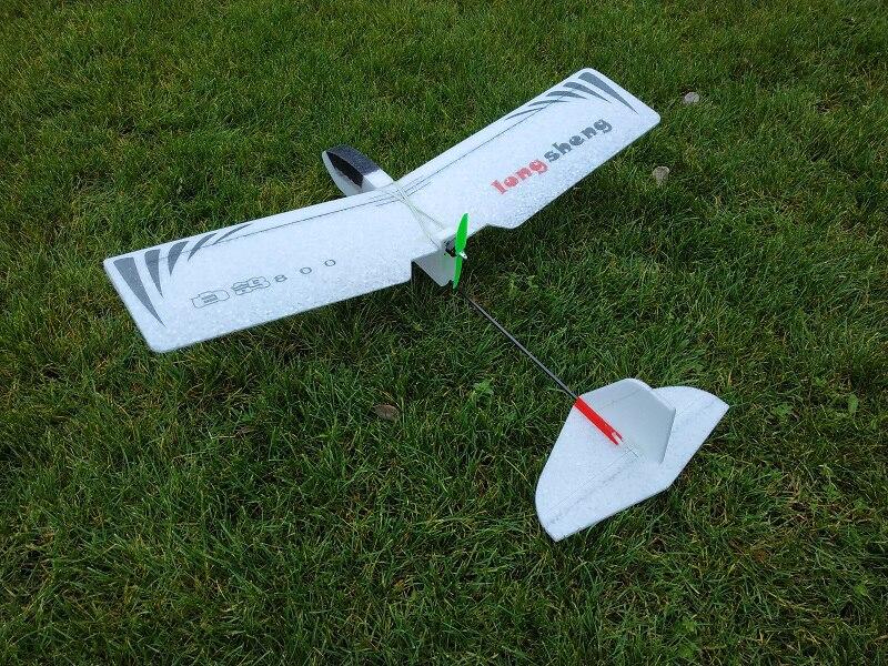 Poco las palomas 800mm envergadura PPE fijo del ala Kit de avión de control remoto entrenador RC modelo de Avión RC Drone avión juguetes al aire libre para los niños