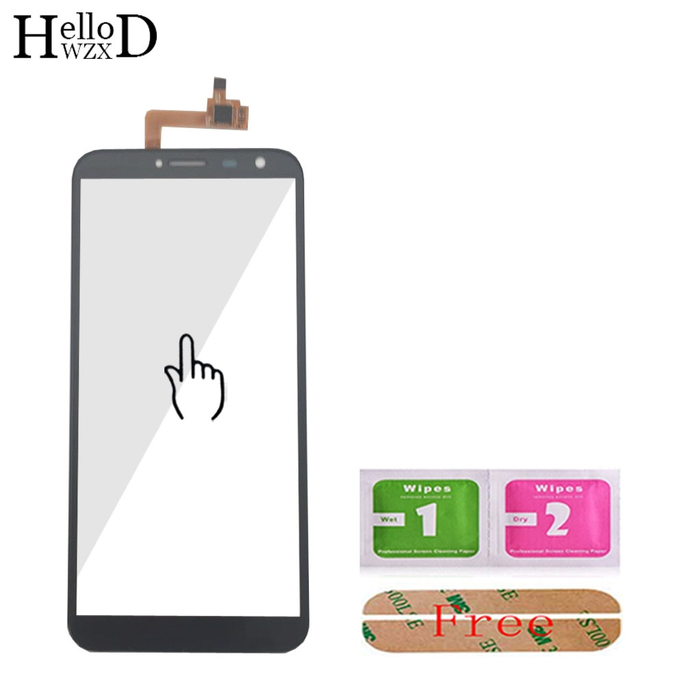 5.5'' Mobile Phone Front Touch Glass For Oukitel C8 Touch Screen Glass Digitizer Panel Glass Lens Se