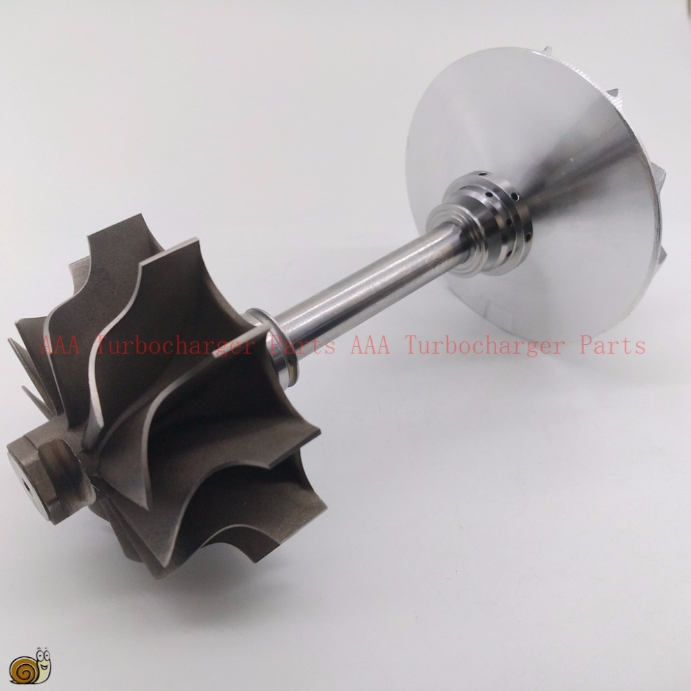 TB34 Turbo parte rueda de turbina 49,2x64,8mm, rueda de compresor 47,4x75mm proveedor AAA piezas del turbocompresor