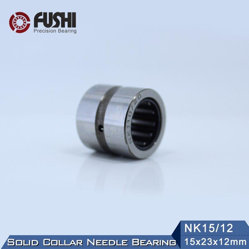 NK15/12 Rolamento 15*23*12mm (5 pc) collar sólidos Rolamentos de Rolos de Agulhas Sem Anel Interno NK15/12 NK1512 644800 k Rolamento