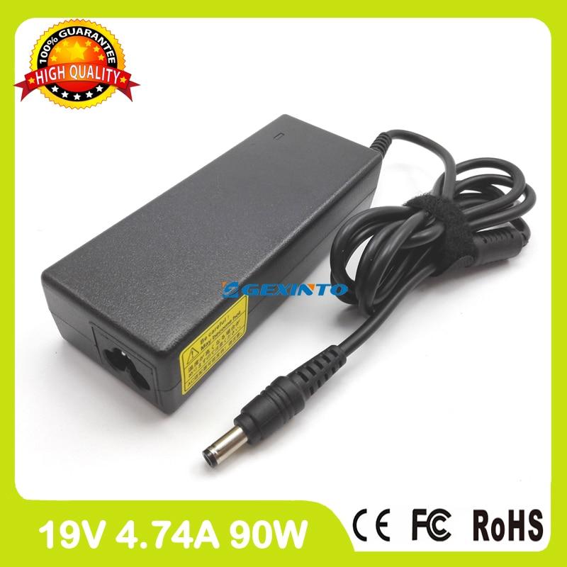 19V 4.74A portátil cargador/adaptador de CA para Toshiba Satellite L583 L585 L586 L587 L650 L650D L655 L655D L750 L750D L755 L55t-B5271