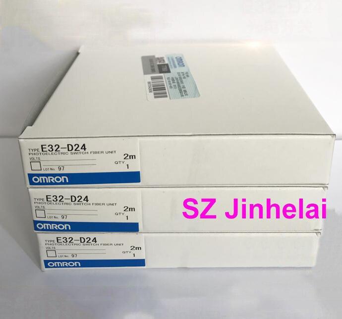 E32-D24 أصيلة الأصلي اومرون الكهروضوئي التبديل الألياف وحدة