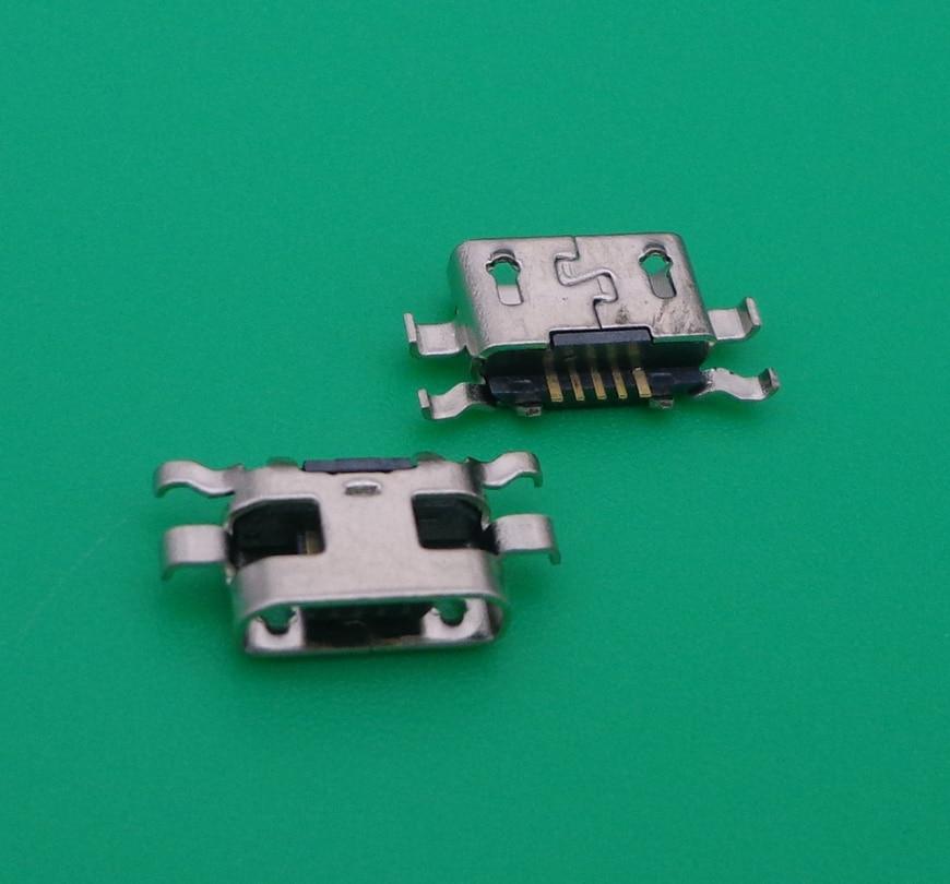 Micro USB connector jack poort opladen socket plug dock vrouwelijke Vervanging Voor Gionee W900 T1 GN708W GN151 GN128 V188S
