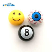 Retail & wholesale smile face tire valve cap 4pcs/lot for car motorcycle tyre automotive decoration China Post freeshipping