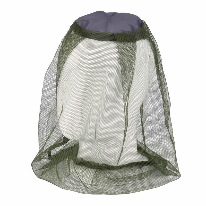 Camping Bug viaje malla Protector cara Midge Mosquito sombrero red insecto cabeza