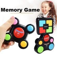 Neue Frühe Pädagogische Memory-Spiel Mit Lichter und Klänge Kinder Geburtstag Geschenk Taste Drücken Brainstorming Elektrische Puzzle Quiz Spiel