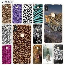 YIMAOC Snow Leopard print Soft Silicone Case for Xiaomi MI Redmi 8A 7A 6A 5A 4X Note 8 7 6 Pro 5 Plu