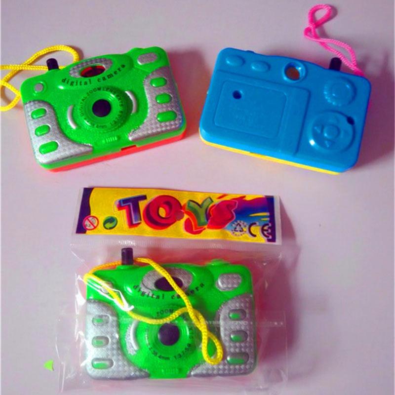 Cámara de plástico de juguete para niños, cámara de animales, juguetes educativos...