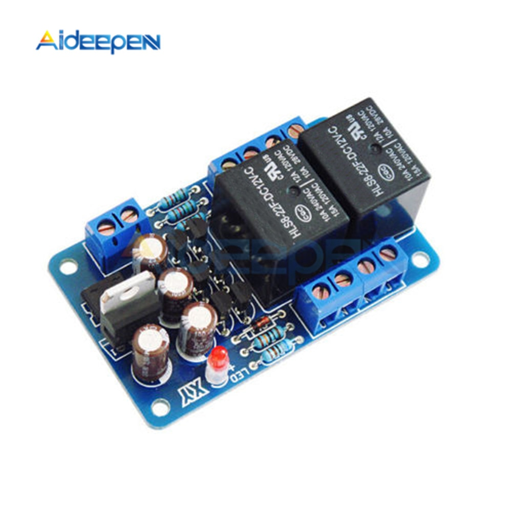 Áudio alto-falante placa de proteção amplificador componentes atraso de inicialização dc proteger kit diy para amplificador estéreo medidor breadboard