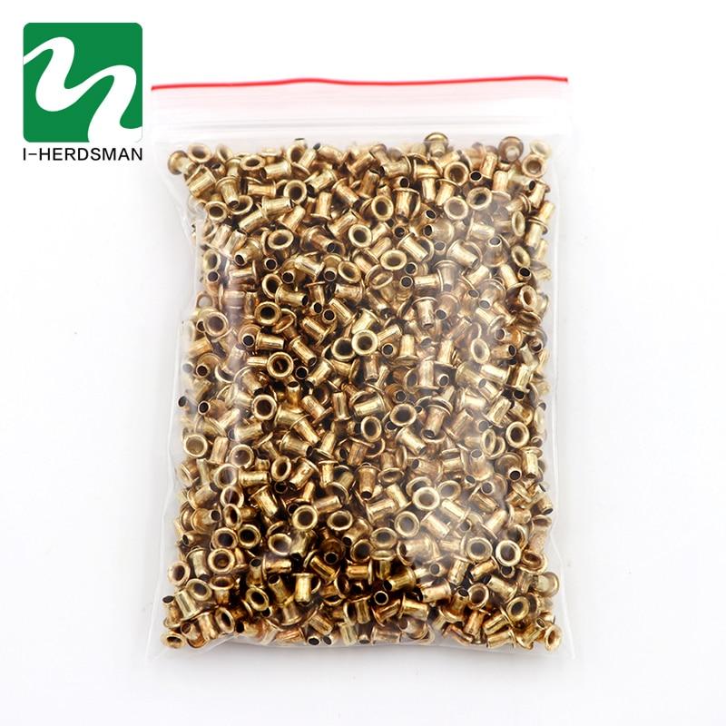 Caja de nido italiano de apicultura de 3300 Uds caja de nido de agujero de roscado base de nido de cobre Herramientas de apicultura de ojo