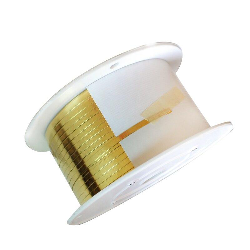 1.2 kg/pack قطاع نحاس ورقة النحاس الذهب فيلم النحاس احباط شريحة من النحاس H65 لآلة النحاس اتصال كهربائي النحاس الملحقات