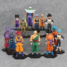 17styles Dragon Ball Z DBZ Kuririn Vegeta Trunks Einfrieren Sohn Goku SOHN Gohan Piccolo Freeza Beerus Action-figuren Spielzeug