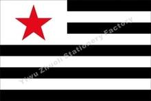 França Breton Partido Comunista bandera de Strollad Kommunaur Breizh Bandeira 150X90 cm (3x5FT) 120g 100D Frete Grátis