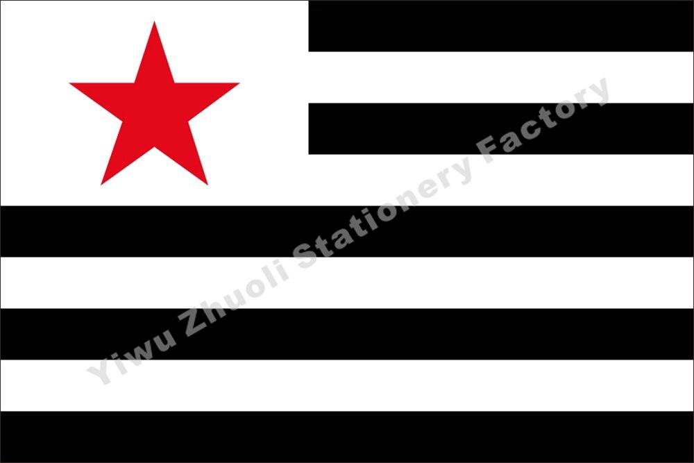 Francia Breton Partido Comunista de Bandera de Strollad Kommunaur Breizh Bandera 150X90cm (3x5FT) 120g 100D envío gratis