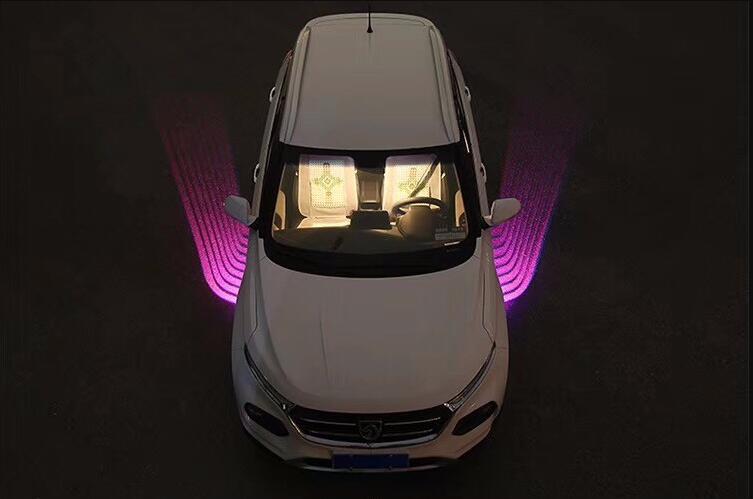 Luces led de Ambiente de felicitación Qirun, luces diurnas decorativas, Luz antiniebla de freno, señal de giro para Kia Amanti Borrego Cadenza