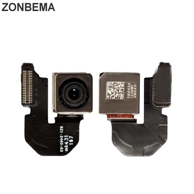 ZONBEMA prueba Original de la cámara trasera con Flash Módulo Sensor Flex Cable para iPhone X XR XS 5 5S 5C SE 6 6S 7 8 Plus XS.