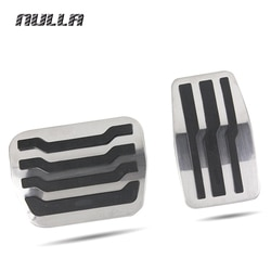 NULLA LHD нержавеющая сталь для Ford Raptor F150 F-150 2009 2010 2011 2012 2013 2014 педаль газа топлива педали тормоза колодки Стайлинг