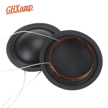 GHXAMP 25.4mm 25.5mm Tweeters Spreekspoel 1 inch 6OHM 8ohm Zijde Membraan Dezelfde Richting KSV Treble DIY 2 STKS