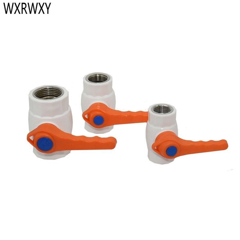 Válvula de bola de acero inoxidable G1/2 G1 G3/4 PPR, grifo de jardín, válvula de agua de 2 vías, controlador de flujo de cierre de agua DN15 DN20 DN25 1 Uds