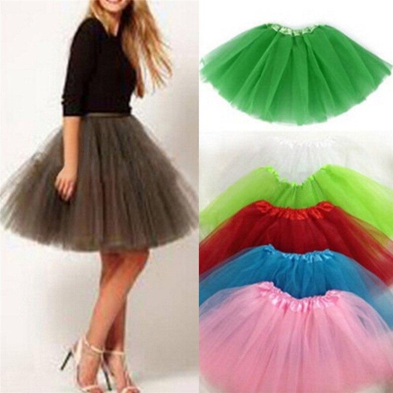 Lindas mujeres de ensueño adulto de fantasía Ballet tutú de baile Pettiskirt faldas con camisa faldas de tul de hadas de baile