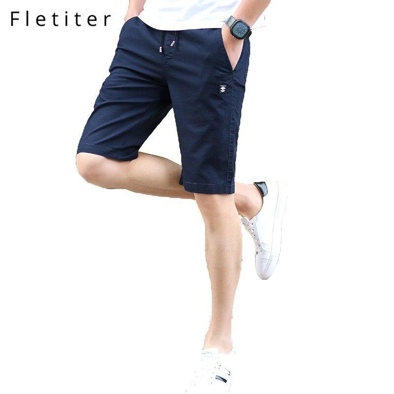 2018 pantalones cortos nuevos hombres gran oferta Casual playa pantalones cortos Homme calidad Bottoms cintura elástica moda marca Boardshorts de talla grande 4XL