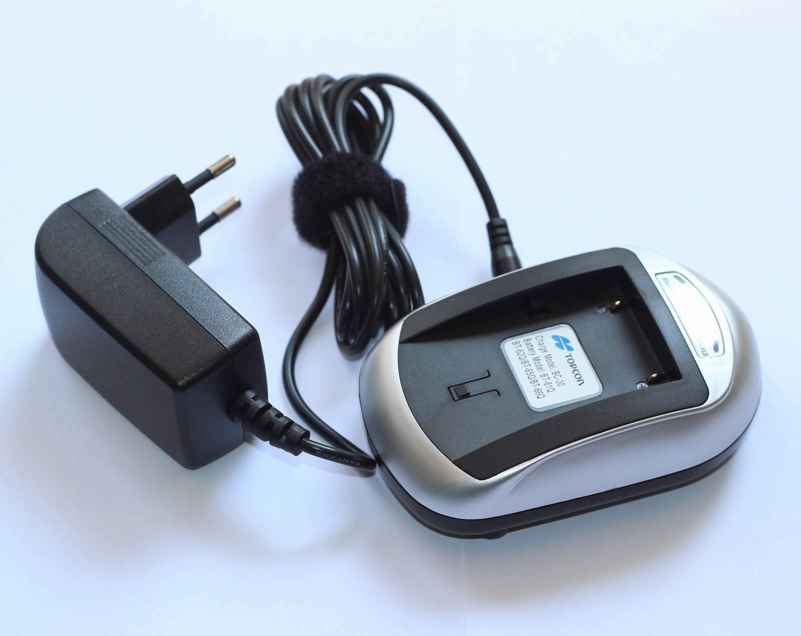 Kompatibel batterie ladegerät BC-30 für Topcon BT-61/BT-65Q/BT66Q batterie