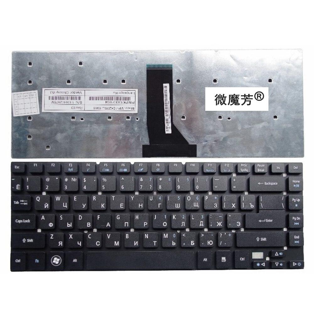 Negro RU nueva para Acer 3830 de 3830G 3830T 3830TG 4755 de 4830 a 4830G 4830T 4830TG V3-471 NV47H MS2317 portátil teclado ruso