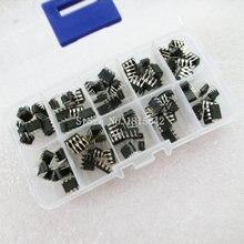 100 pièces/boîte NE555 UC3842 UC3843 UC3845 24C02 24C04 24C08 24C16 24C32 24C64 DIP IC Kit Dassortiment Chaque 10 pièces