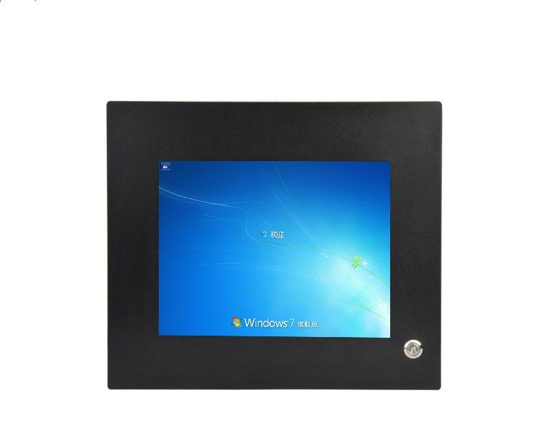 Lüfterlose Mini-PC C1037U Wind7/8 Dual Nic 6 * RS232 COM