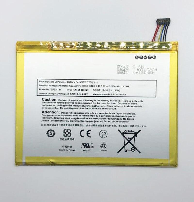 GeLar 3.7V 3210mAh Battery 26S1009, 58-000127, ST11, ST11A for Amazon Kindle Fire HD 8 5th, Kindle HD 8, SG98EG