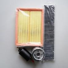 Ensemble de filtres pour ROEWE 550 / MG6   Climatisation de lair + de cabine, + carburant + filtre à huile oem, PHE000200 10002061 LPW100180 96335719