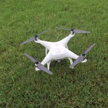 2 paires dhélices Phantom 4 9450 S en Fiber de carbone, accessoires autobloquants avec siège en alliage daluminium DJI Phantom 4 drone