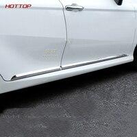 For Toyota Camry 2018 2019 ABS Chrome Body Side Door Molding line Cover Trim Garnish fit Auto Body trim door trim 4pcs