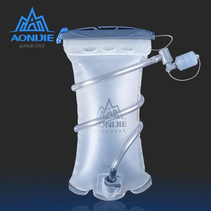 AONIJIE SD20 depósito suave 1.5L vejiga de agua Paquete de hidratación bolsa de almacenamiento de agua TPU BPA libre para correr hidratación chaleco mochila