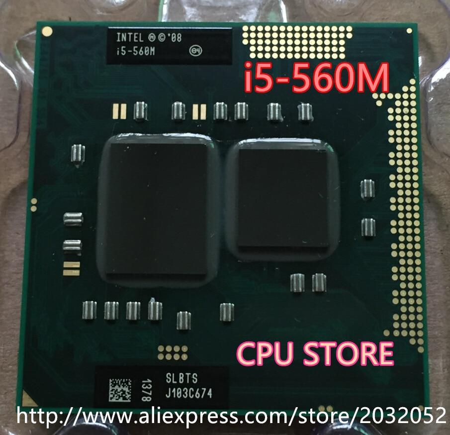 Оригинальный lntel двухъядерный процессор i5 560M 2,66 GHz 560 ноутбук процессор PGA 988 i5-560M (работает 100% бесплатная доставка)